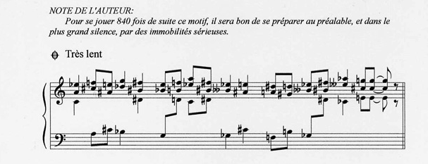 Vexations tres lent