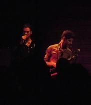 Kaven Rastagar (on mic), Ben Wendel
