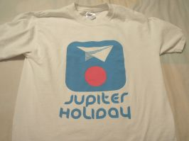 Jupiter Holiday T-shirt, still in good condition