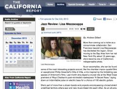 Mezzacappa on The California Report - click to go there