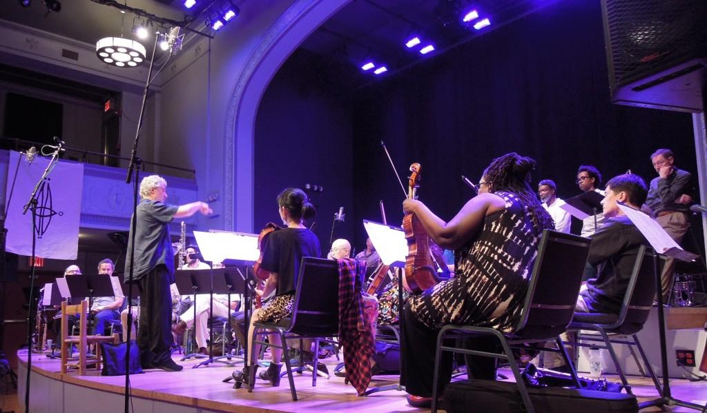 Adam Rudolph's Go: Organic orchestra