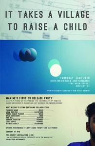 Maxine concert: Thursday, June 26, 2014