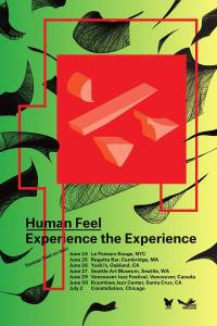 Human Feel 2014 tour poster, from Facebook