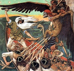 The Defense of the Sampo by Akseli Gallen-Kallela