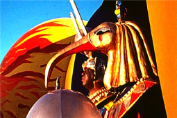 Sun Ra looking regal. Source: Bayimproviser