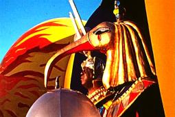 Sun Ra looking regal. Source: Bayimproviser