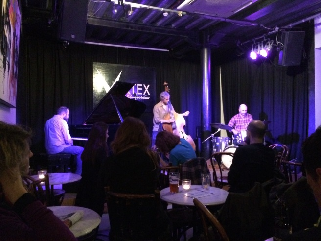 The Markov Chain at the Vortex Jazz Club, London, on 2 December 2015