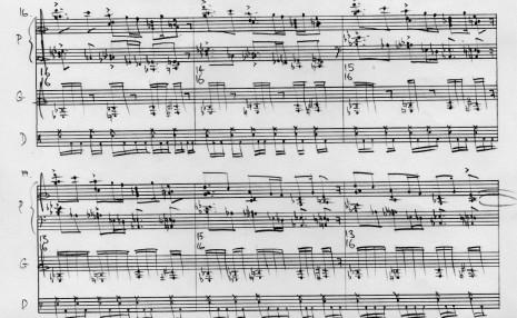 trio hlk sheet music